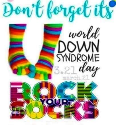 World Down Syndrome Day – March 21st!