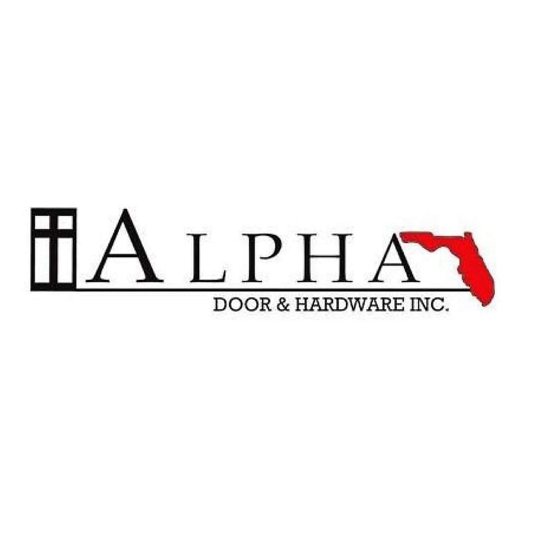 OUR GRATITUDE TO THE ALPHA DOOR & HARDWARE, INC.!